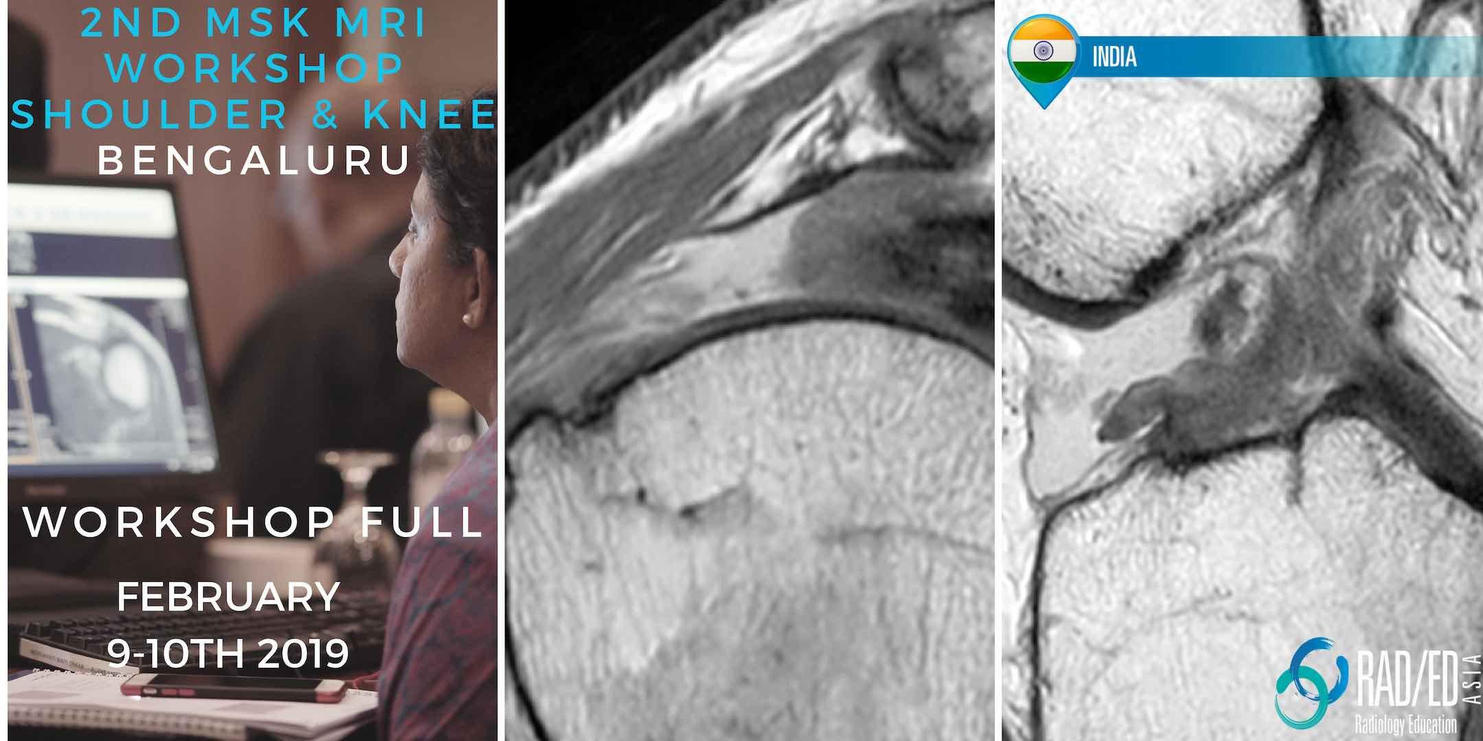 radiology conference mri knee shoulder msk bangalore india radedasia