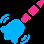 Attention bell icon radedasia